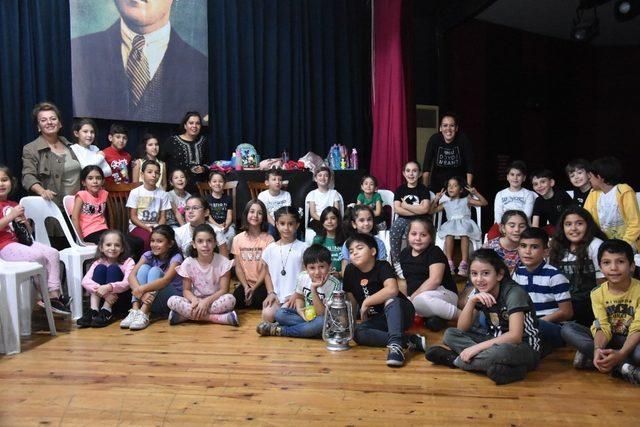 Nazilli Belediyesi Çocuk Tiyatrosu çalışmalarına başladı