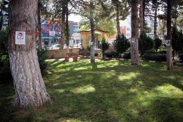 Okul bahçesindeki ağaçlara şehitlerin isimleri verildi