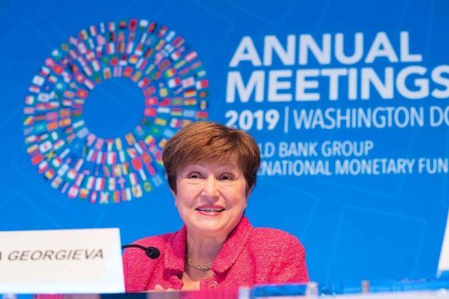 IMF'nin yeni başkanı Kristalina Georgieva