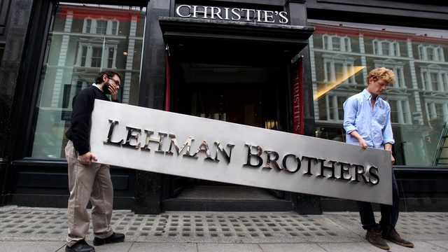 Lehman Brothers'ın 2008 yılında iflas etmesi dünyayı mali krize götürmüştü