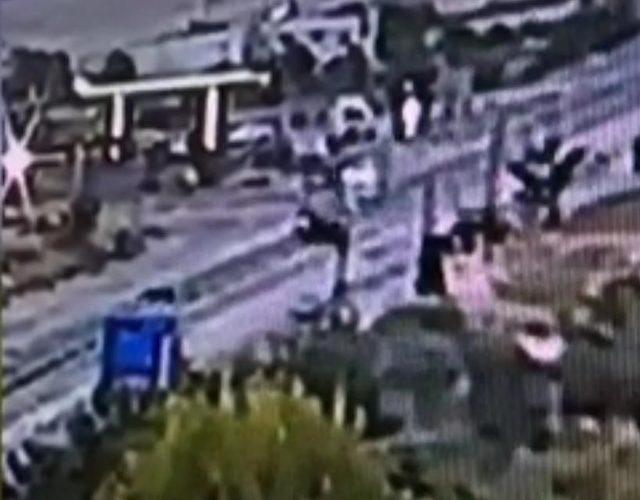 Tunceli'de 4 kişinin öldüğü kaza saniye saniye kameraya yansıdı