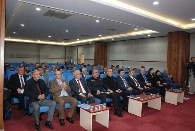 Bartın'da İl Koordinasyon Kurul toplantısı yapıldı
