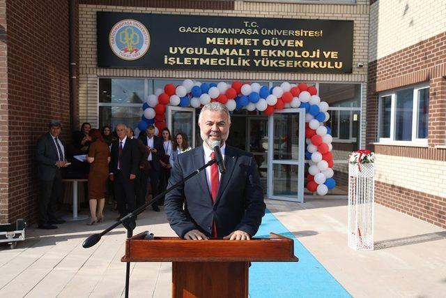 Tokat'ta, Uygulamalı Teknoloji ve İşletmecilik Yüksekokulu açıldı
