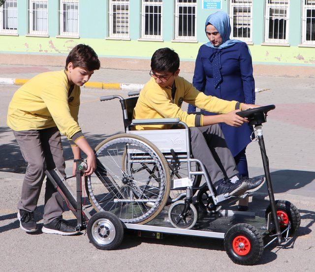 Engellilerin hayatına dokunan birincilik