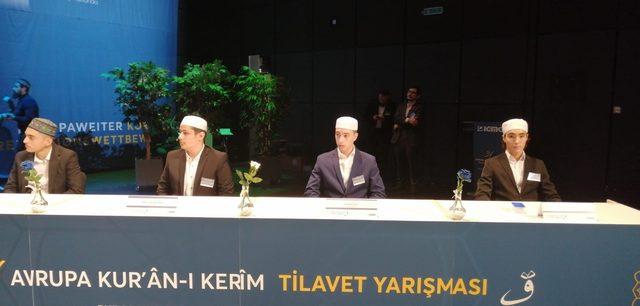 31'inci Avrupa Kur'an-ı Kerim Tilavet yarışması Almanya'da düzenlendi