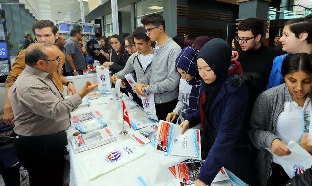 3.Gaziantep Üniversite tercih günleri GAÜN'de başladı