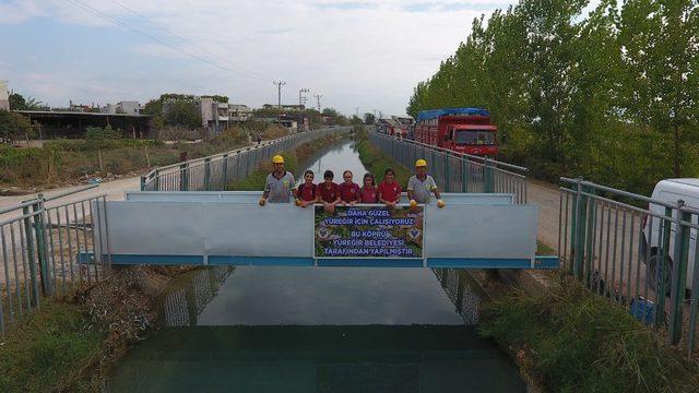 Yüreğir Belediyesi'nden Akarcalı'ya yaya köprüsü
