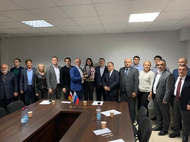 DKİB Heyeti Rusya Federasyonu Kuzey Kafkasya Bölgesi'nde