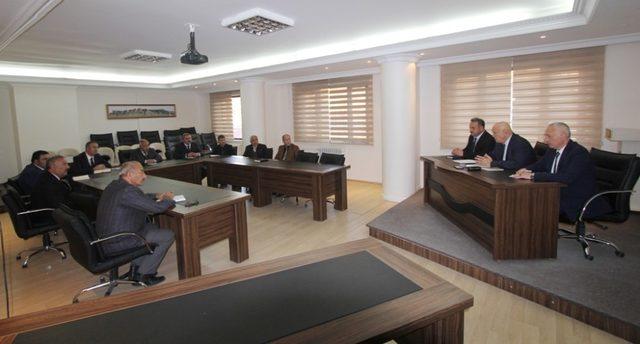 Bayburt Belediyesi kış tedbirlerini masaya yatırdı