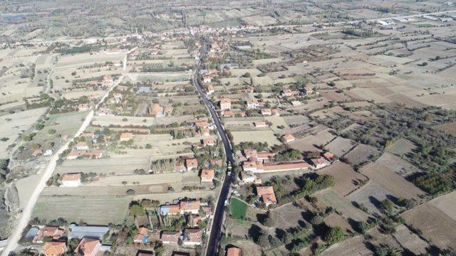 Ezinepazar'da yollar BSK asfaltla kaplandı