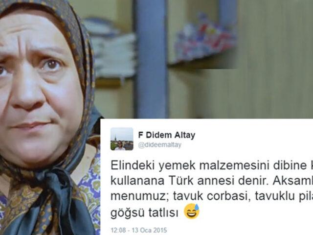 Türk Annesinin Gücünü Mutfaktan Aldığını Kanıtlayan 10 Eşsiz Özelliği