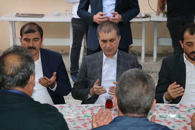 AK Parti Sözcüsü Çelik'ten taziye ziyareti