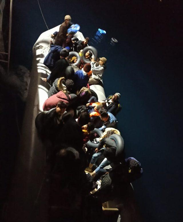 Aydın'da 134 düzensiz göçmen yakalandı<br />