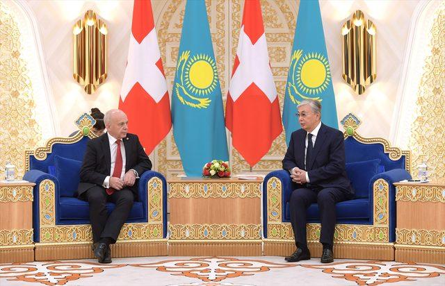 Kazakistan Cumhurbaşkanı Tokayev: Kazakistan bölgede en iyi yatırım ortamı olan ülke