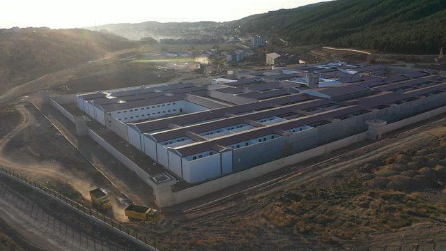 İnşaatı devam eden cezaevinin 2020 yılında tamamlanması bekleniyor