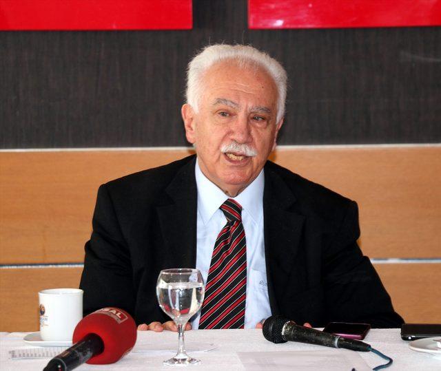 Vatan Partisi Genel Başkanı Perinçek: