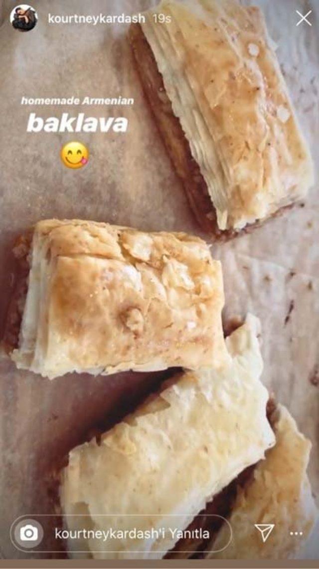 kourtney-baklava-instagram