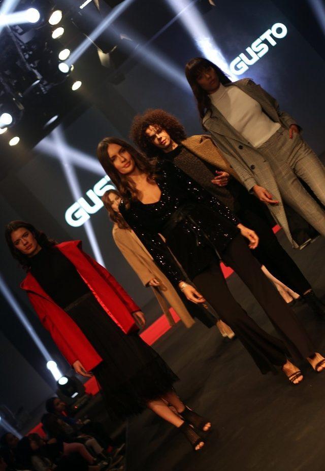 Gusto Giyim'den Safiye Soyman ve Faik Öztürk'lü açılış