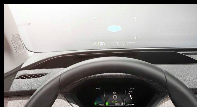 Skoda Enyaq iV ekran