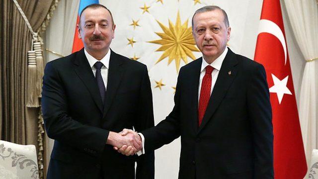 Aliyev ve Erdoğan
