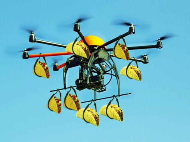 Yemek Siparişlerinizi Drone Getirsin İster Miydiniz?