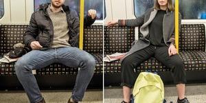 Kadınlardan rövanş: Toplu taşımada bacaklarını kapamayan erkeklere misilleme başladı