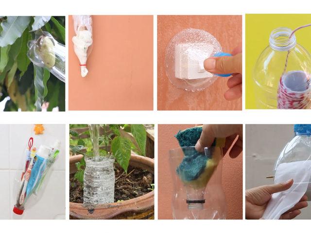 Plastik Şişe Deyip Atmayın! 8 Farklı Geri Dönüşüm Yolu