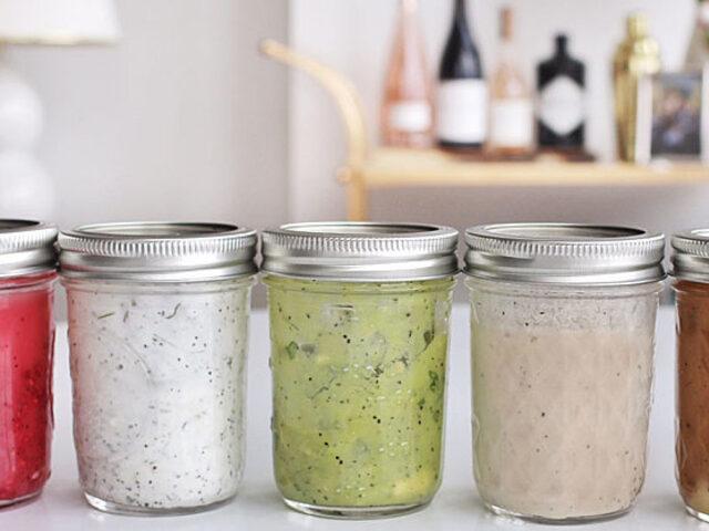 Sadece 3 Malzemeli 5 Farklı Salata Sosu