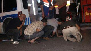 Sabaha karşı Ataşehir'de feci kaza!