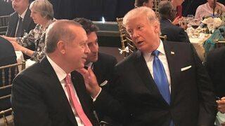 Erdoğan ile Trump yemekte bir araya geldi