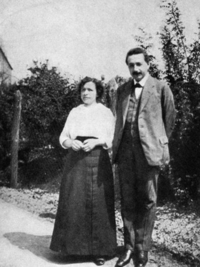 Mileva Maric ve Albert Einstein, 1905