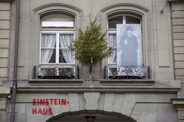 Albert Einstein ve Mileva'nın Bern'deki evi şimdi müze