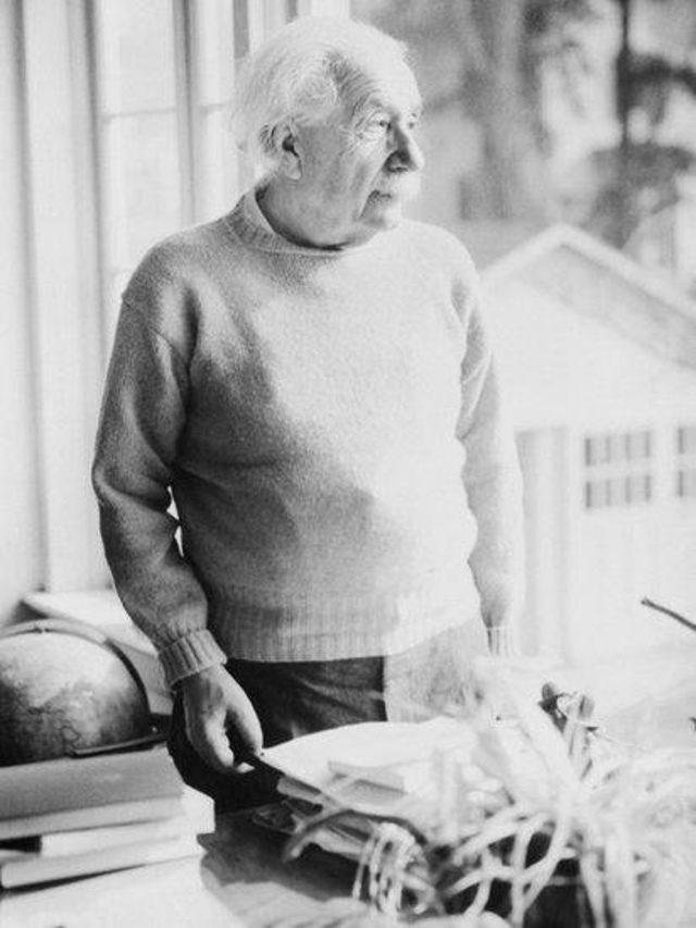 Einstein'ın yaşlılık fotoğrafı