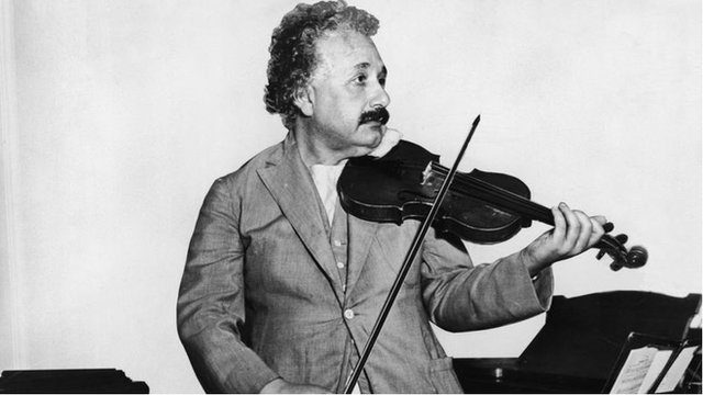 Einstein çocuklarına keman çalardı