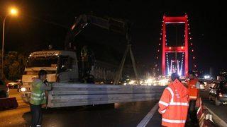 İstanbullular dikkat! Köprüde çalışma var