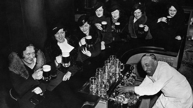 1933 yılında alkol yasağının kaldırılması ABD genelinde kutlanmıştı