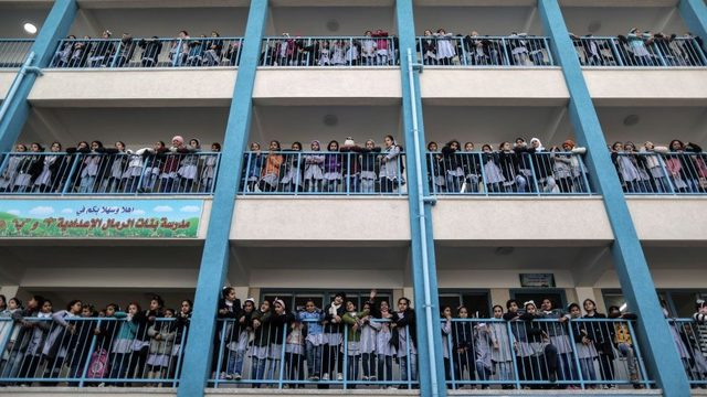 Gazze'de BM idaresi altında yaklaşık 250 okul var