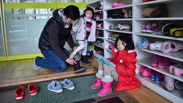 Güney Kore'de bazı devlet kreşleri için yıllarca sıra beklenebiliyor.