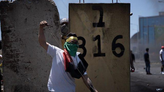 Ramallah'taki eylem