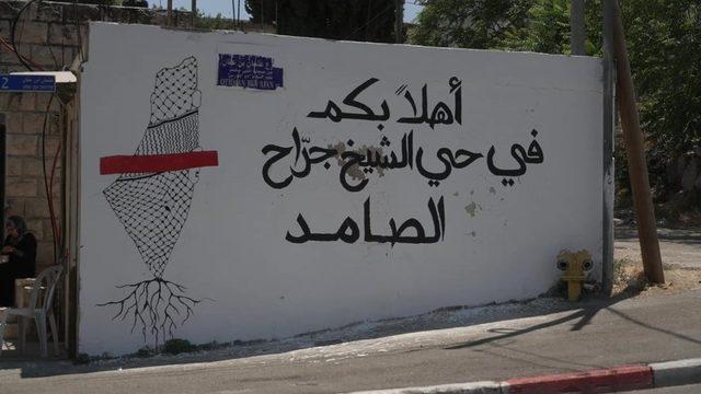 Duvar yazısı: