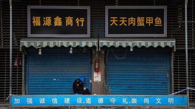 Vuhan'daki Huanan balık pazarının Covid vakalarıyla bağlantılı olduğu düşünülüyordu.