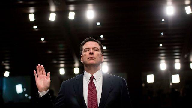 ABD Başkanı Donald Trump'ın görevden aldığı FBI eski başkanı James Comey, 2017'de ABD Senatosu'nda ifade vermiş, Trump yönetimini kendisi ve FBI hakkında