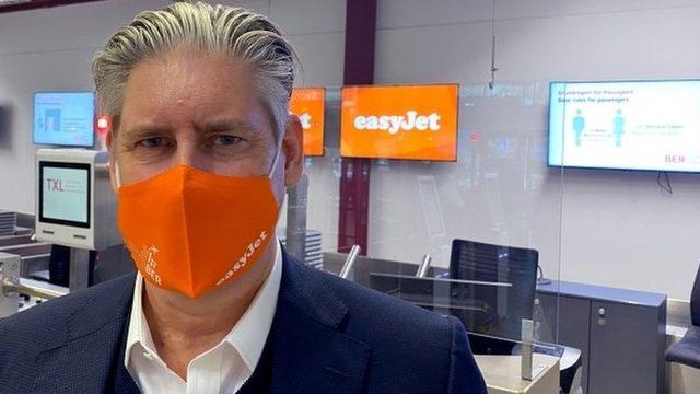 EasyJet patronu Johan Lundgren