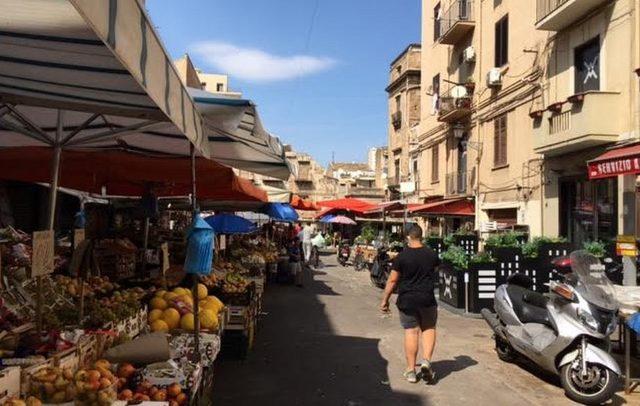 Palermo sokakları