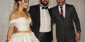 Faruk Tuncel'in kızı Berivan Tuncel dünya evine girdi