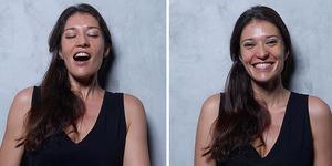 Kadınları orgazm olmadan önceki ve sonraki halleriyle fotoğraflayan proje