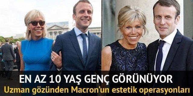 Macron Un Canina Tak Etti Esimden 20 Yas Buyuk Olsaydim Dunya Haberleri