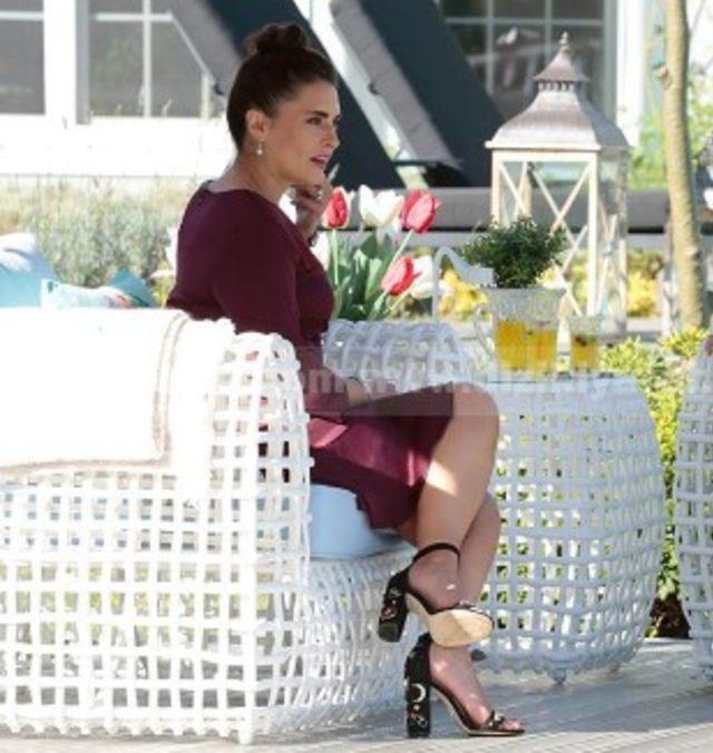 Merve-Bordo-Elbise-ve-Ayakkabı
