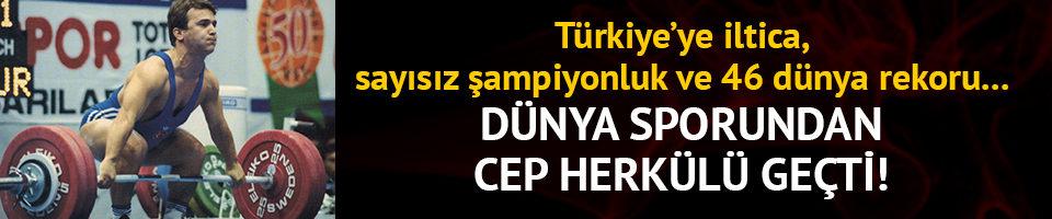 Dünya sporundan Naim Süleymanoğlu geçti!