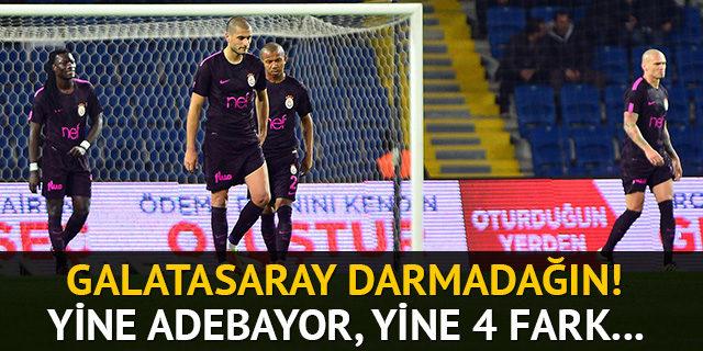 Galatasaray'a tarihi hezimet!